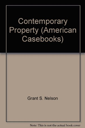 9780314183521: Contemporary Property (American Casebooks)
