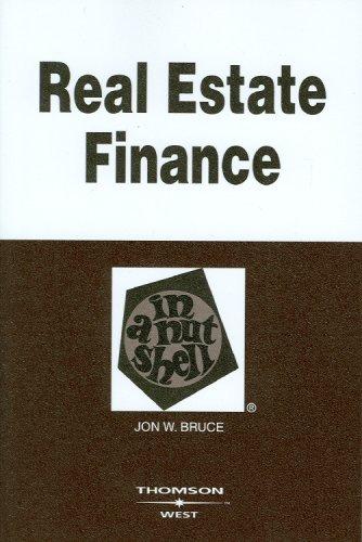 9780314183545: Real Estate Finance in a Nutshell (Nutshells)