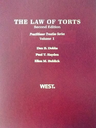 9780314184245: The Law of Torts (Practioner Treatise Series)