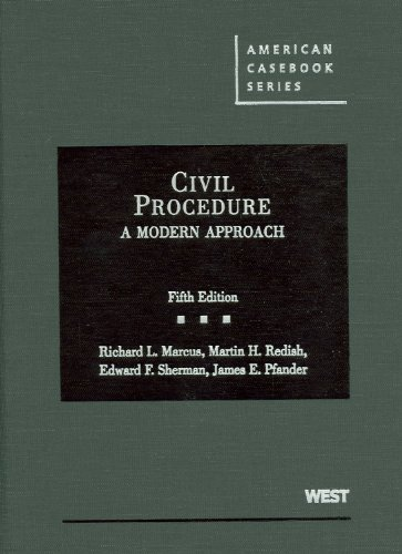 american civil procedure Comparative civil procedure: a guide to primary and secondary sources also contains civil codes and codes of civil procedure of almost all latin american.
