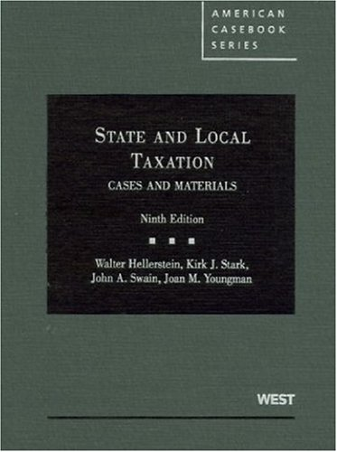9780314185068: Cases and Materials on State and Local Taxation, 9th (American Casebooks) (American Casebook Series)