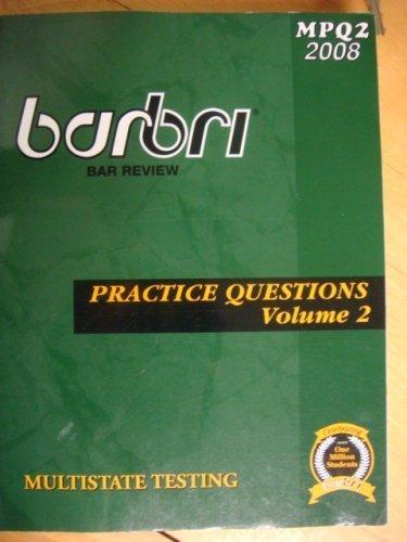 Multistate Testing: BarBri
