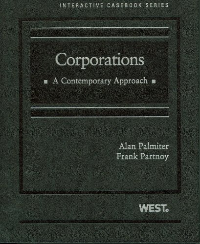 9780314189974: Corporations: A Contemporary Approach (West Interactive Casebook Series)