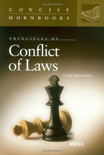 9780314191021: Conflict of Laws (Concise Hornbook Series)