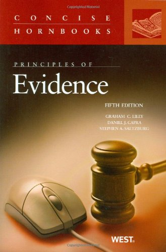 9780314191069: Principles of Evidence, 5th Edition (Concise Hornbooks)