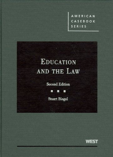 9780314191083: Education and the Law (American Casebook Series)