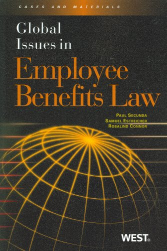 9780314194091: Global Issues in Employee Benefits Law