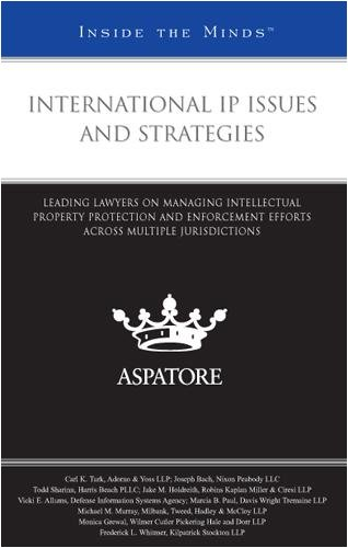 9780314195371: International IP Issues and Strategies: Leading Lawyers on Managing Intellectual Property Protection and Enforcement Efforts across Multiple Jurisdictions (Inside the Minds)