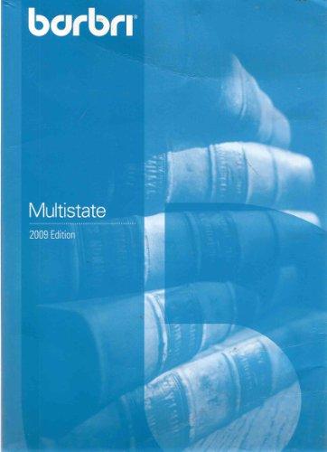 BarBri Multistate (2009 Edition): BarBri