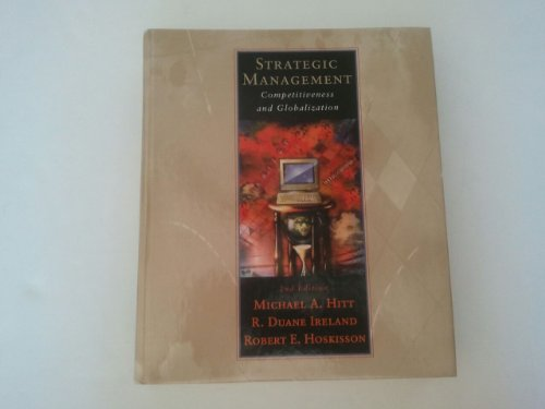 9780314201126: Strategic Management: Competitiveness and Globalization: Theory and Cases