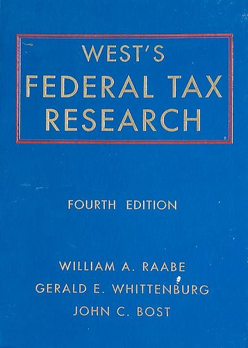 9780314201829: West's Federal Tax Research