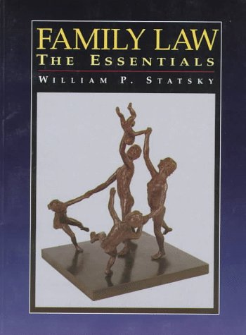 9780314202260: Family Law: The Essentials
