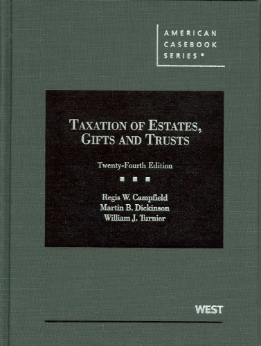 9780314202796: Taxation of Estates, Gifts and Trusts (American Casebook Series)