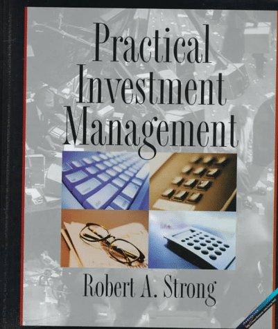 9780314203359: Practical Investment Management