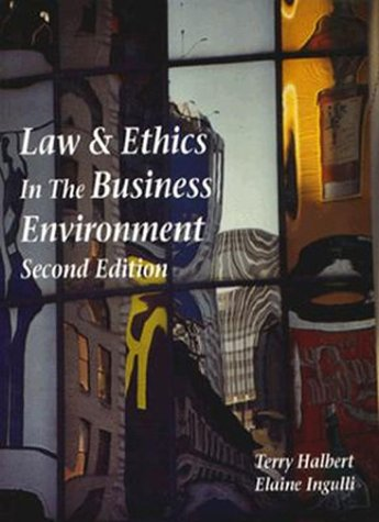 9780314204387: Law and Ethics in the Business Environment