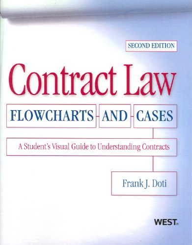 9780314204516: Contract Law, Flowcharts and Cases, A Student's Visual Guide to Understanding Contracts, 2nd Edition
