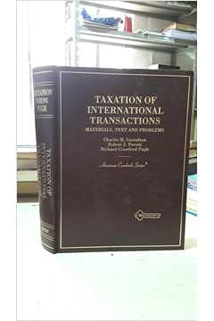 9780314204653: Taxation of International Transactions: Materials, Text, and Problems (American Casebook Series)