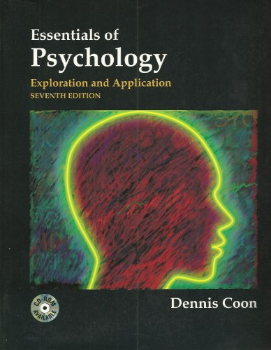 9780314204790: Essentials of Psychology: Exploration and Application