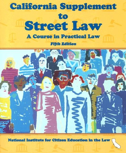 9780314204974: California Supplement to Street Law: A Course in Practical Law