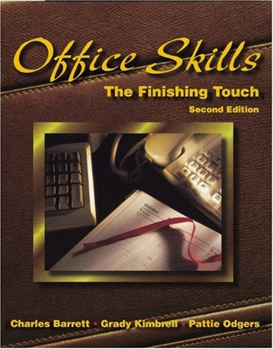 Office Skills : The Finishing Touch: Charles Francis Barrett,
