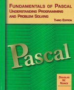 9780314205544: Fundamentals of Pascal,Understanding Programming and Problem Solving