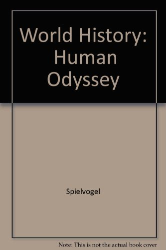 9780314205629: World History: Human Odyssey, Teacher's Wraparound Edition