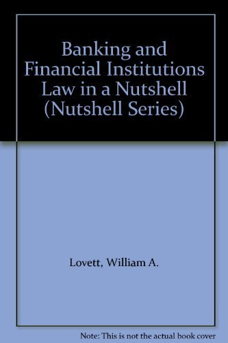 9780314205902: Banking and Financial Institutions Law in a Nutshell (Nutshell Series)