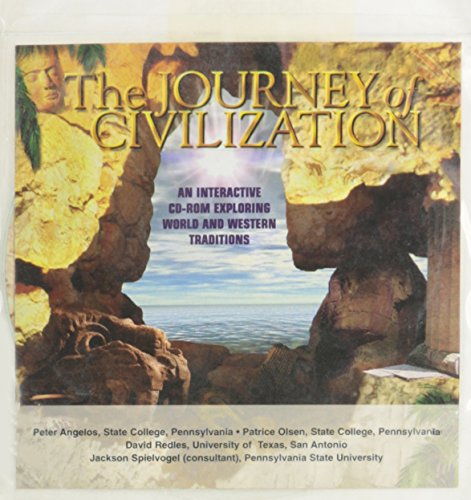The Journey of Civilization: An Interactive Cd-Rom: Angelos, Peter, Ph.D./