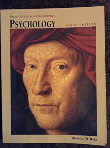 Study Guide for Dworetzky's Psychology: Rees, Richard D.