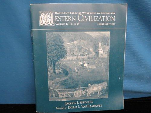 Document Exer Wkbk-Western Civilization: Spielvogel, Jackson J.