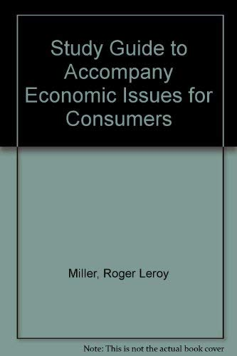 9780314209283: Study Guide for Economic Issues for Consumers