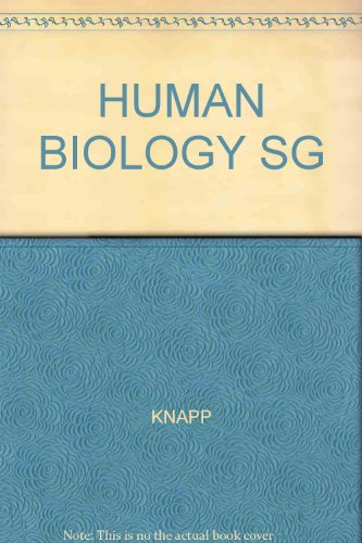 S.G. Perpsectives in Human Biology: Knapp