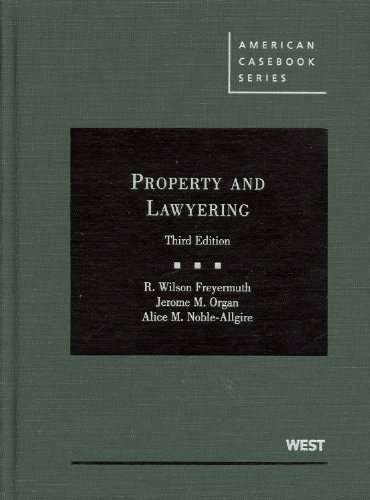 9780314210135: Property and Lawyering (American Casebook Series)