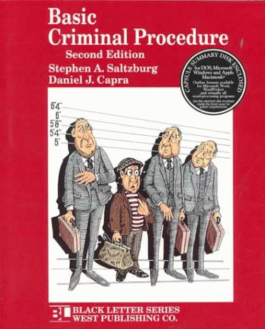 9780314211071: Basic Criminal Procedure (Black Letter Series)