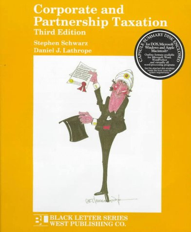 9780314211088: Corporate & Partnership Taxtn (Black Letter Series)