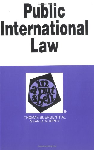 9780314211583: Public International Law in a Nutshell (Nutshell Series)