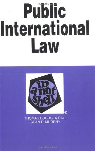 Public International Law in a Nutshell (Nutshell: Thomas Buergenthal, Harold