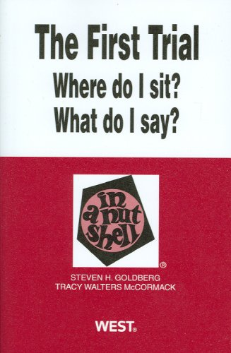 The First Trial (Where Do I Sit?: Goldberg, Steven; McCormack,