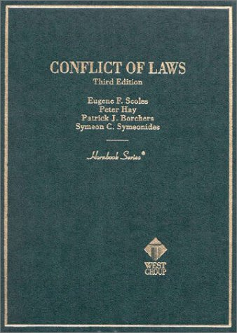 9780314211699: Conflict of Laws (Hornbook Series and Other Textbooks)