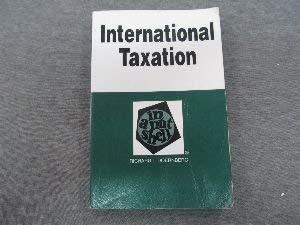 International Taxation: In a Nutshell (Nutshell Series) (0314212027) by Doernberg, Richard L.