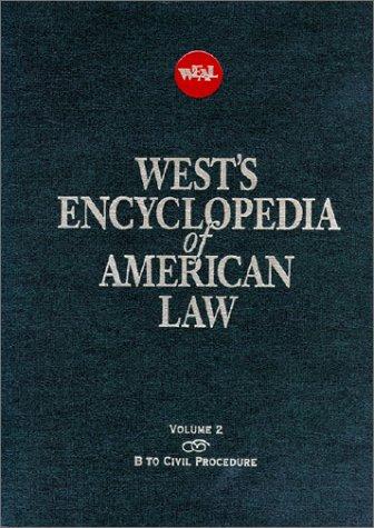 9780314227706: West's Encyclopedia of American Law