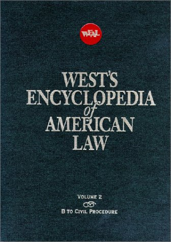 West's Encyclopedia of American Law (12 Volumes, 2nd Edition): West Publishing