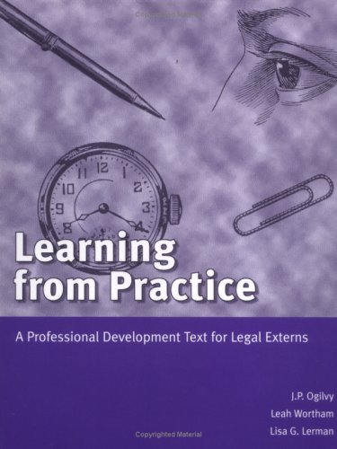 Learning from Practice: A Professional Development Text: J. P. Ogilvy,