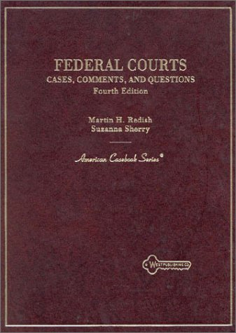 9780314230478: Federal Courts: Cases, Comments and Questions (American Casebook Series)