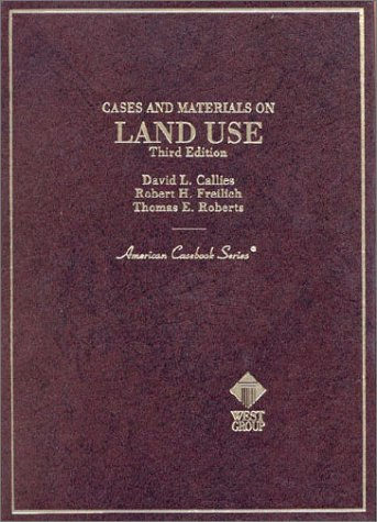 9780314230591: Cases and Materials on Land Use (American Casebook Series)