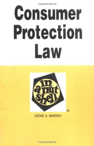 9780314231680: Consumer Protection Law in a Nutshell (Nutshells)