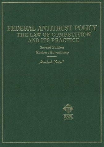 9780314231802: Federal Antitrust Policy: The Law of Competition and Its Practice (Hornbook Series)