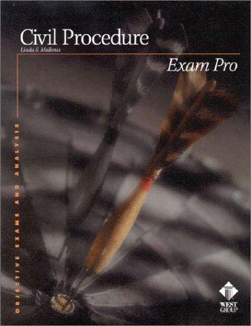 9780314232304: Civil Procedure (Exam Pro)
