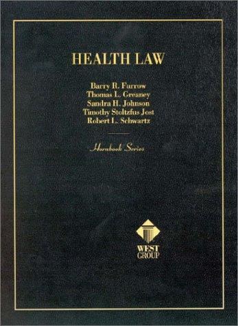9780314234308: Hornbook on Health Law 2nd Ed (Hornbook Series)