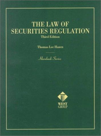 9780314234315: The Law of Securities Regulation (Hornbook Series)
